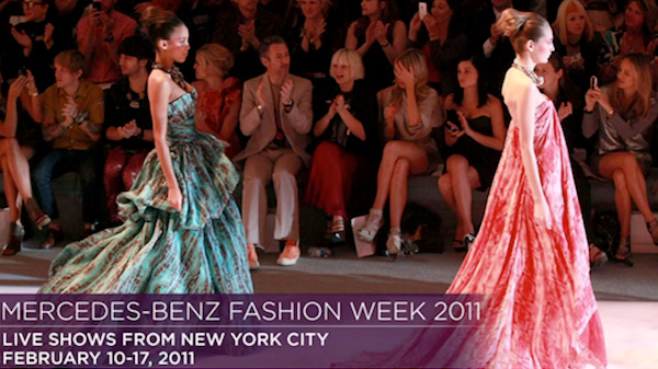 fashion week streaming