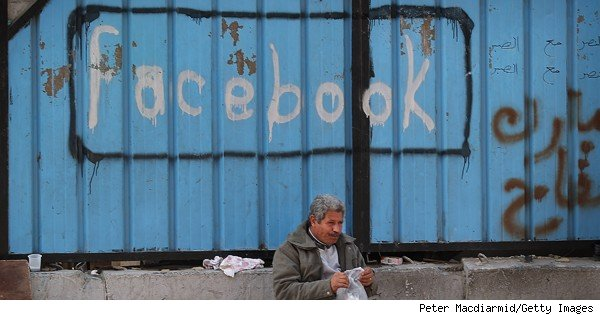 facebook graffiti in egypt