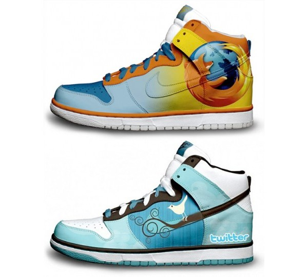 firefox and twitter nikes