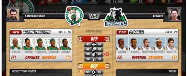 NBA unveils social game for Facebook.