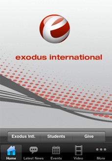 exodus international iphone app