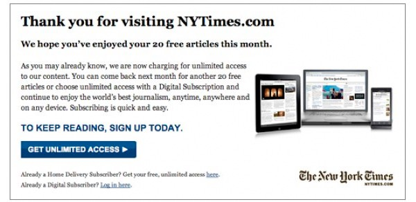 new york times paywall overlay