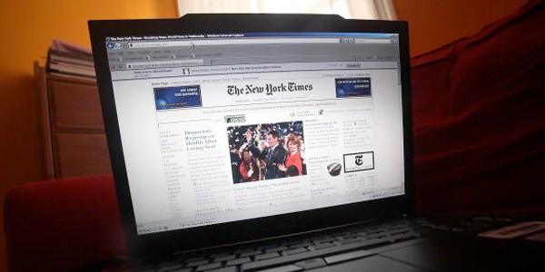 new york times online