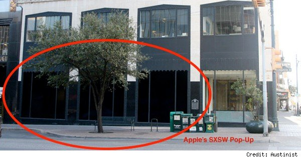 possible apple store at sxsw