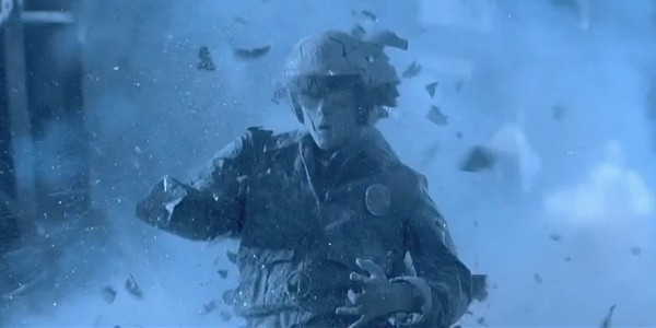 T-1000 getting shattered