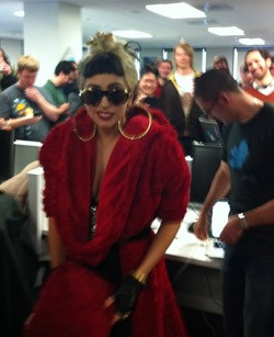 Lady Gaga at Twitter