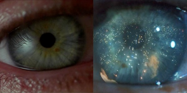 eyes from 'strange days' and 'blade runner'