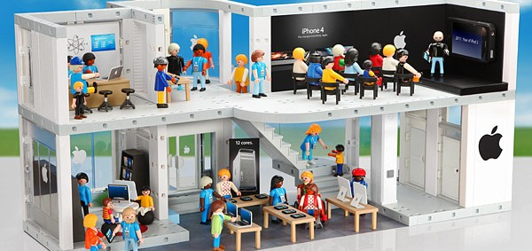 Apple Store Playset
