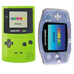 gameboy color and advance