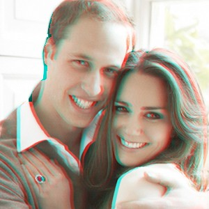 will and kate in 3-d
