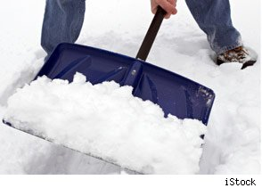 Shovel Snow Without Hurting Your Back