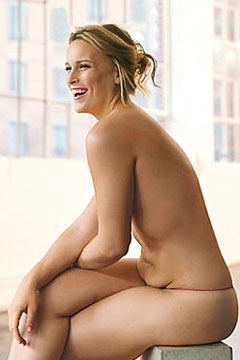 nude photo. Photo: Walter Chin for GLAMOUR