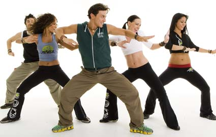 Easy zumba workout video