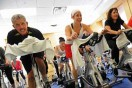 Real Men Join Spin Classes