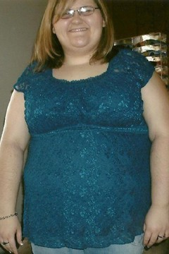... always had weight problems -- I was a little chubby girl who turned into ...