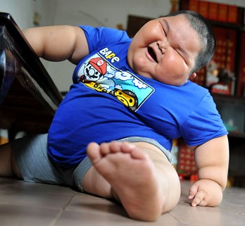 chinese obese toddler picture