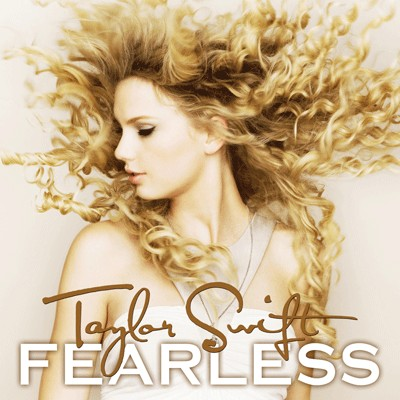 Taylor Swift Reveals 'Fearless' Cover