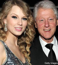 Taylor Swift, Bill Clinton