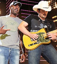 Darius Rucker and Brad Paisley