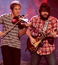 Jimmy De Martini and Zac Brown of Zac Brown Band