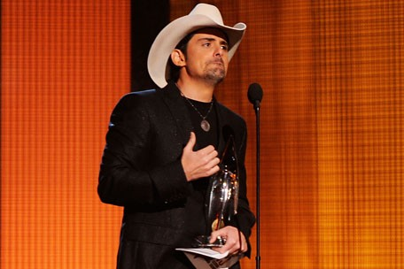 Brad Paisley at the 2010 CMA's 