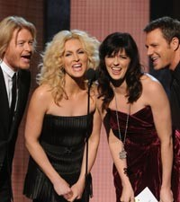 Kimberly Schlapman and Karen Fairchild of Little Big Town