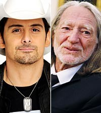 Brad Paisley, Willie Nelson