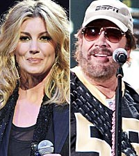 Faith Hill, Hank Williams, Jr.