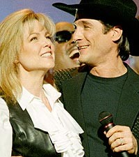 Lisa Hartman Black & Clint Black