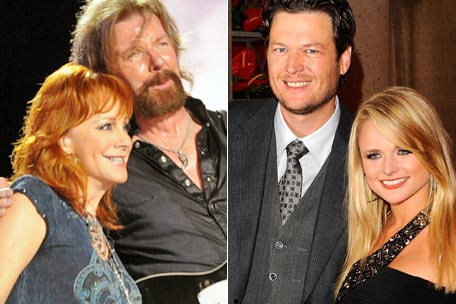 blake shelton miranda lambert wedding. While Miranda Lambert and