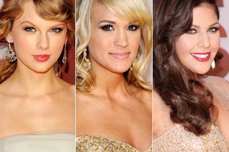 Taylor Swift, Carrie Underwood, Hilary Scott