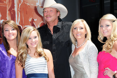 Alan Jackson family Christmas