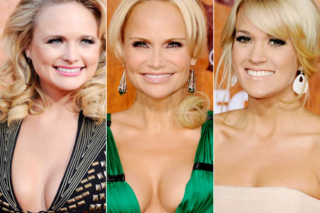 Miranda Lambert Kristen Chenoweth Carrie Underwood Getty Images