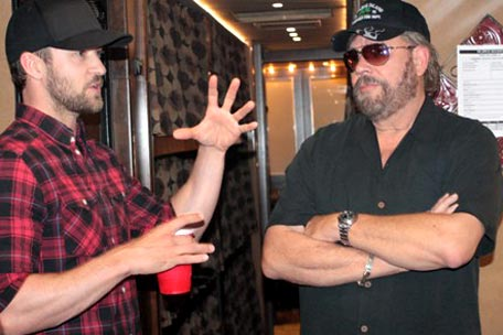 Justin Timberlake, Hank Williams Jr.