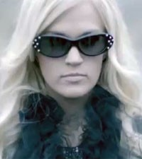 Carrie Underwood Two Black Cadillacs video
