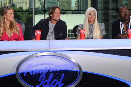 Keith Urban American Idol judges