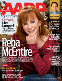 Reba McEntire AARP interview