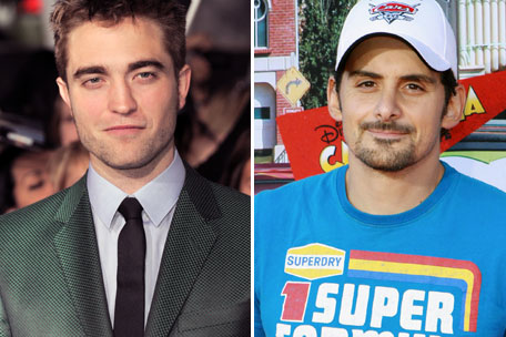 Robert Pattinson Brad Paisley
