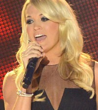 Carrie Underwood sick