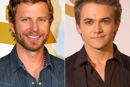 dierks bentley hunter hayes grammy nominations