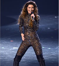 Shania Twain kicks off Las Vegas show