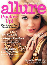 Carrie Underwood Allure Cover story