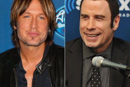 Keith Urban John Travolta duet