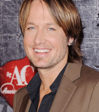 Keith Urban's favorite songs