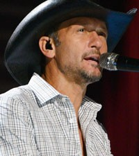 Tim McGraw tour dates 2013