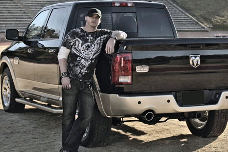 Ram Jam auction Brantley Gilbert's truck