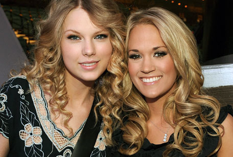 Carrie Underwood Taylor Swift Feud