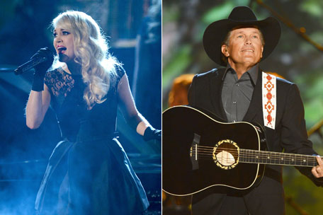 Carrie Underwood and George Strait CMT Awards Performers