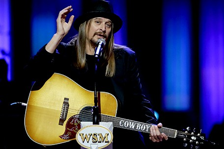 Kid Rock to Perform at Concert Planned by the Late George Jones In Tribute