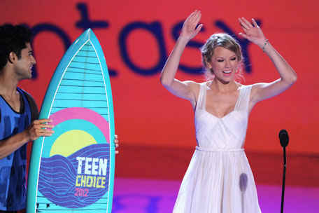 Taylor Swift Teen Choice Awards 2013 Nominations